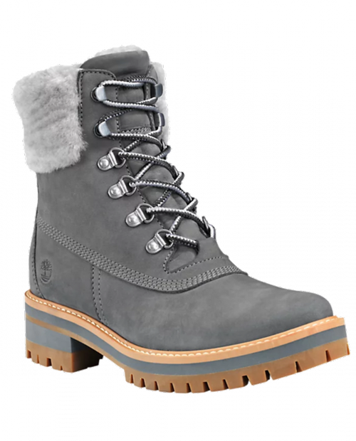 TIMBERLAND Courmyeur Shearl WP - MDGRY/GARGOYLE