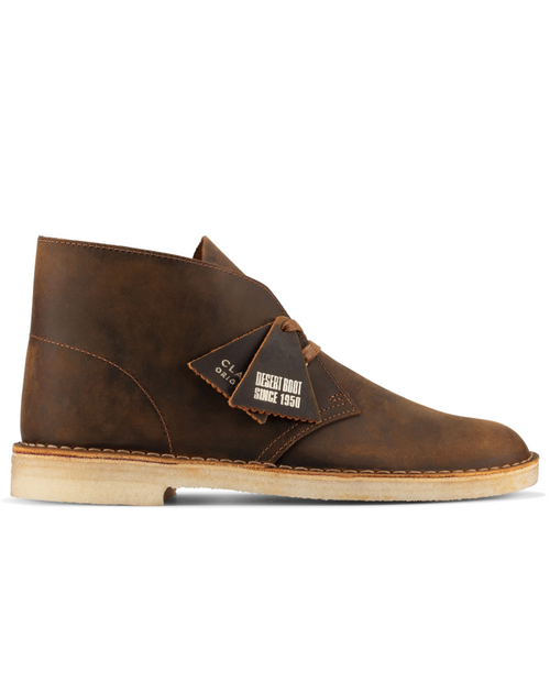 Mens Desert Boot Beeswax Leather