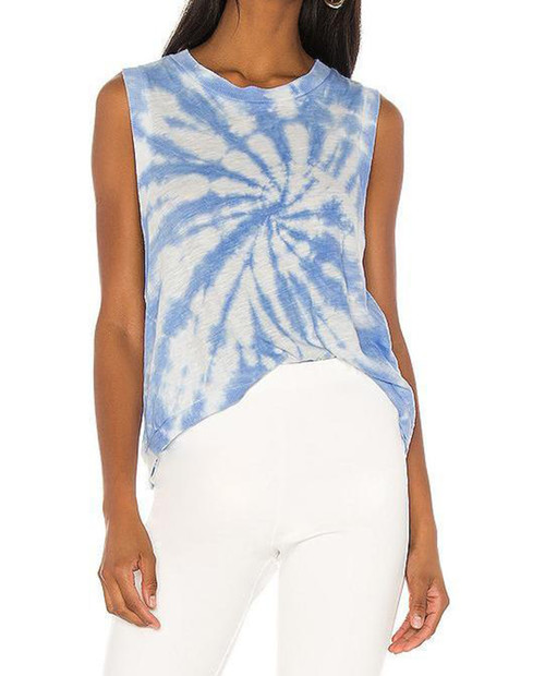 FREE PEOPLE MOVEMENT Love Tank Tie Dye