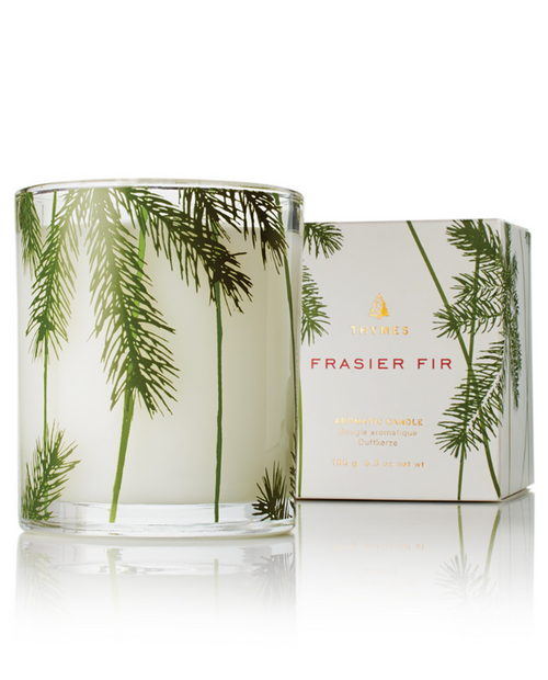 Frasier Fir - Poured Candle - Pine Needle Design