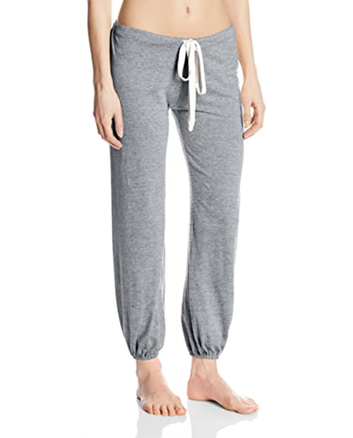 Womens Heather Cropped Pant