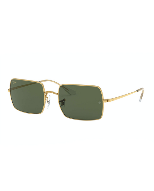 RAY BAN Rectangle LEGEND GOLD GREEN