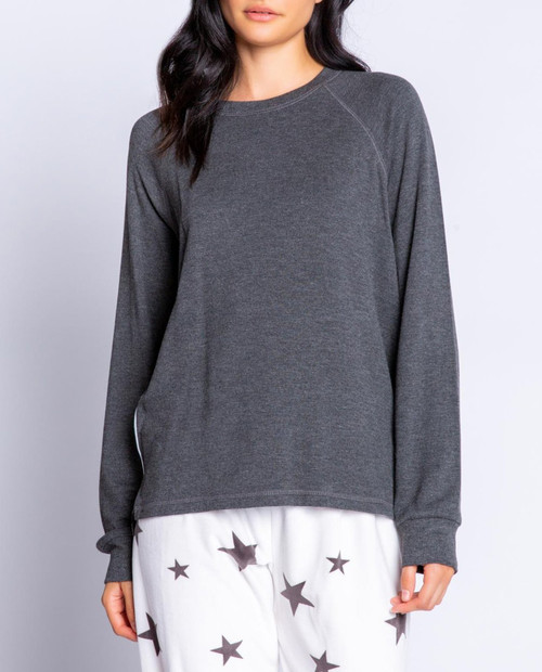 PJ SALVAGE Women's LS Wish Top