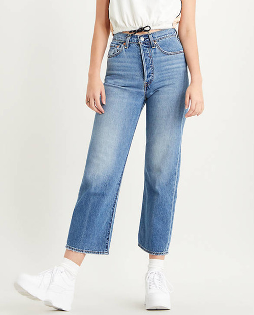 LEVIS PREMIUM Ribcage Straight Ankle - At the Ready