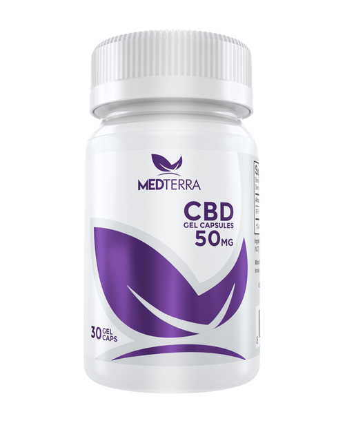 CBD Gel Capsules - 50mg