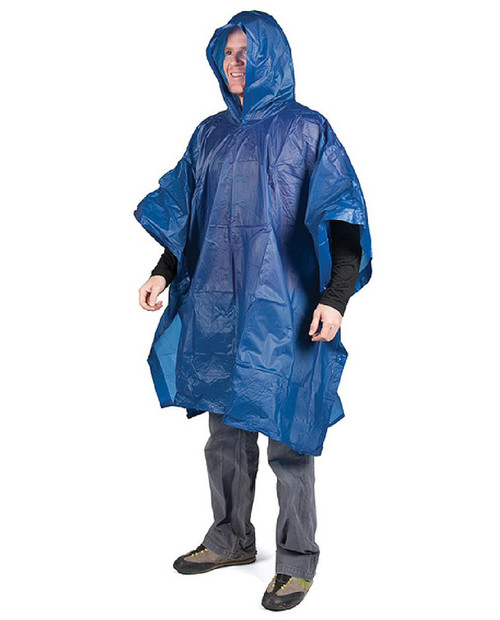 PEREGRINE OUTFITTERS Vinyl Poncho Blue