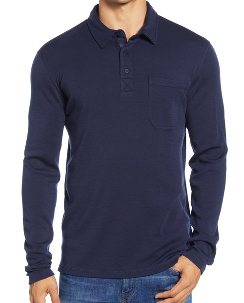 SMARTWOOL Mens Merino 250 Long Sleeve Polo