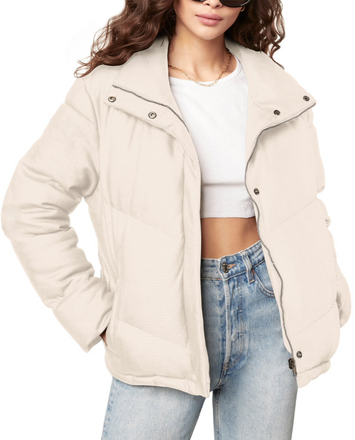 Womens Answer My Layer Puffer