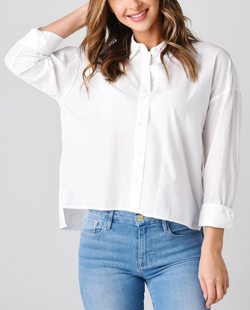 Cotton Lawn Boxy Shirt