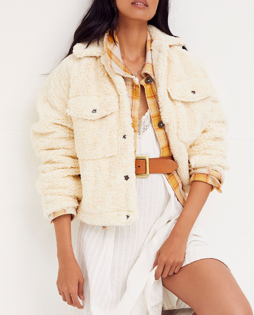 FREE PEOPLE Women's Teddy Swing Jacket