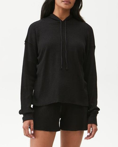 MICHAEL STARS Women's Kylo Hoodie with Side Slits