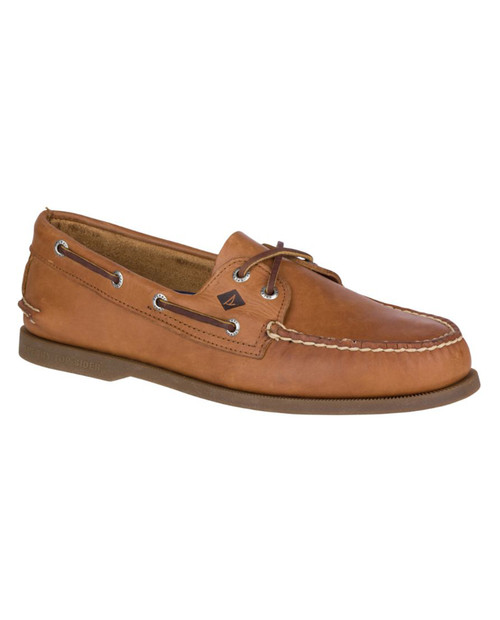 SPERRY TOP SIDER Mens AO 2-Eye Boat Shoe Sahara