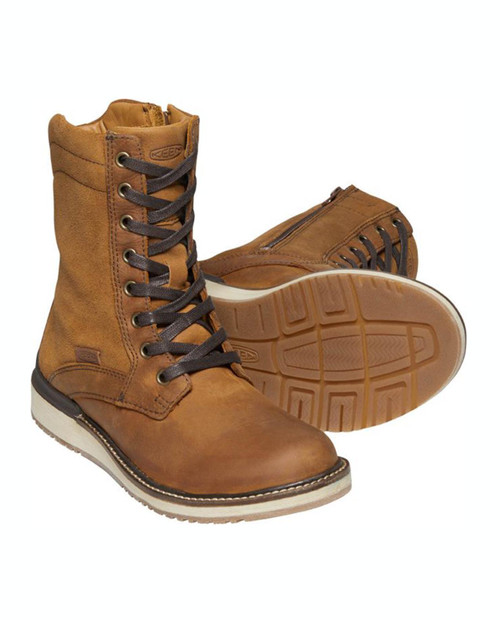 KEEN Women's Bailey Lace Boot - COGNAC