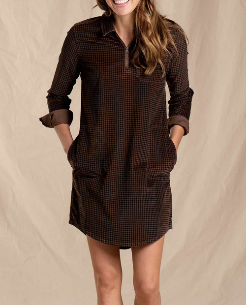 TOAD AND CO Women's Cruiser Cord Popover Dress