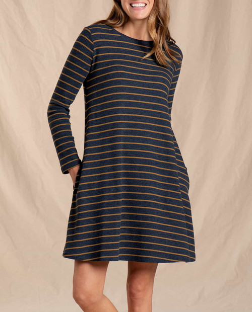 TOAD AND CO Women's Foothill LS Swing Dress