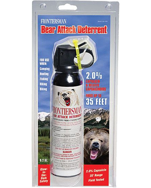 Bear Spray W/O Holster 9.2 OZ