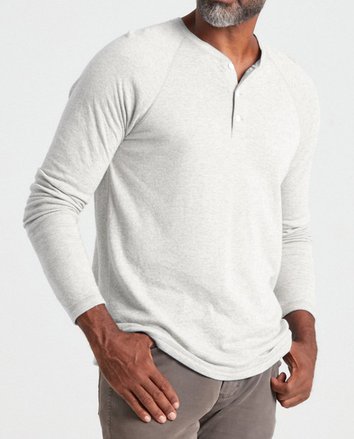 FAHERTY Men's Cloud L/S Henley