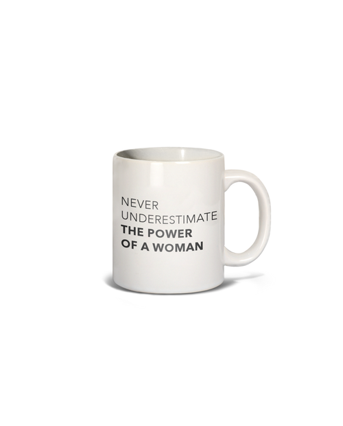 LOS ANGELES TRADING CO The Power of a Woman Mug