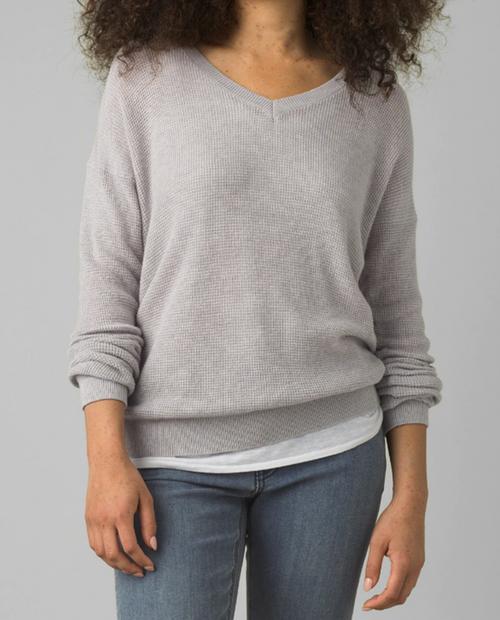 Womens Milani Vneck Sweater