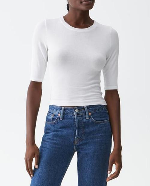 Maeve Short Sleeve Crop Top