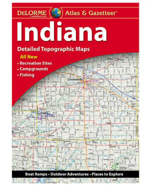 DELORME MAPPING Indiana Atlas
