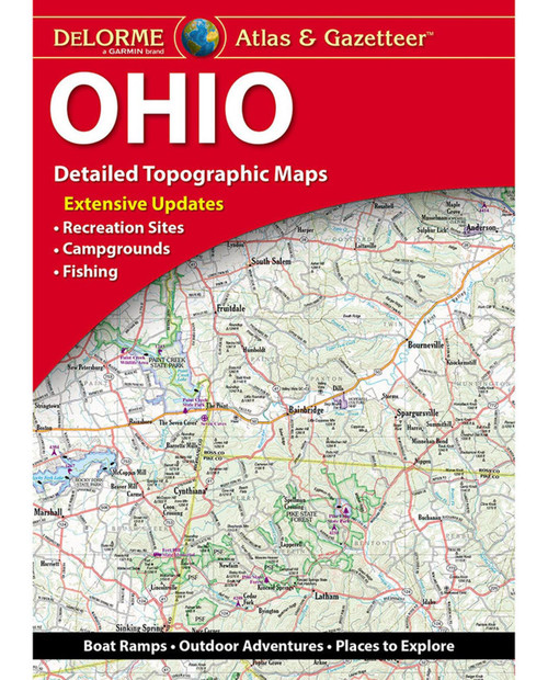 DELORME MAPPING 2019 Ohio Atlas