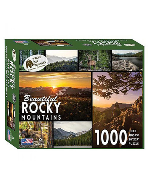 Beautiful Rocky Mountains Puzzle