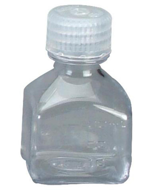 NALGENE Square Lexan 1oz Transparent Square Storage Bottle