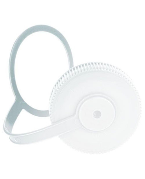 NALGENE Wide Mouth Loop-Top Lids - White