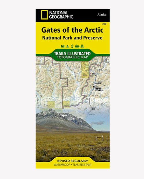 NATIONAL GEO MAPS AK Gates of the Arctic NP