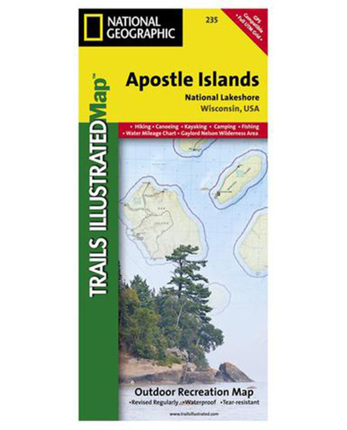 NATIONAL GEO MAPS Apostle Islands #235