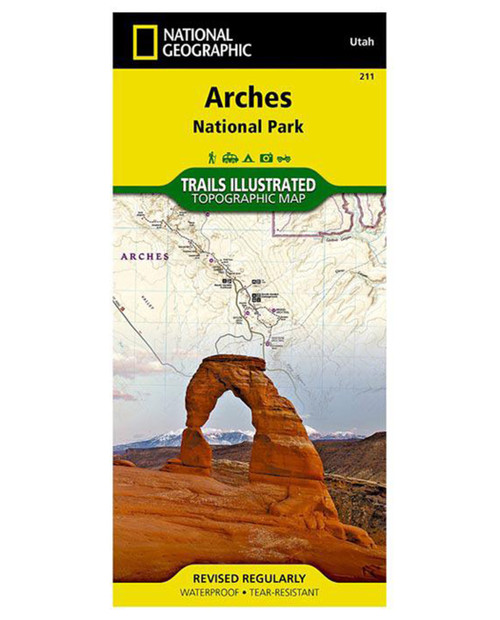 NATIONAL GEO MAPS Arches National Park #211
