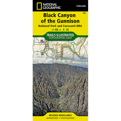Black Canyon of Gunnison River Map