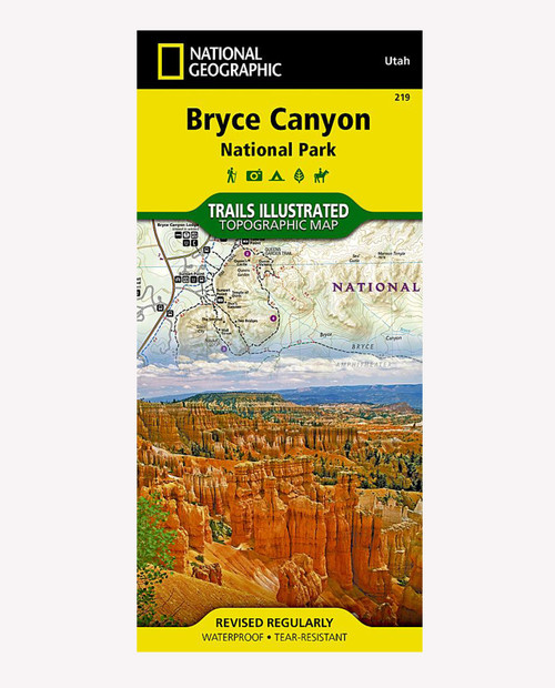 NATIONAL GEO MAPS Trail ill - Bryce Canyon NP 219