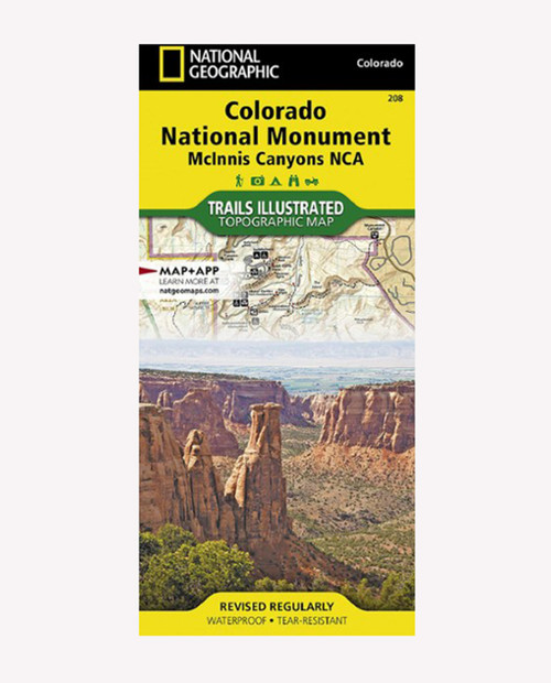 NATIONAL GEOGRAPHIC MAPS Trails Illustrated Colorado Nat Mountain