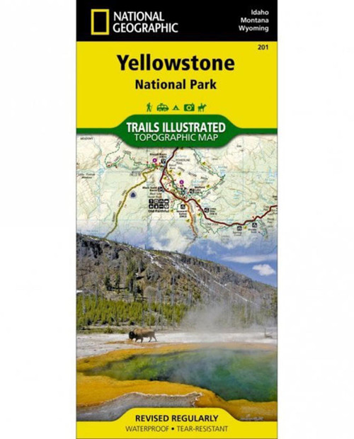 NATIONAL GEO MAPS Trails Illustrated Yellowstone 201