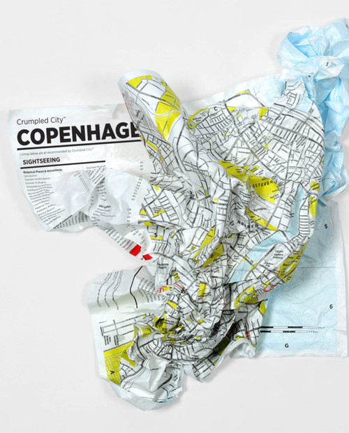 Crumpled City - COPENHAGEN