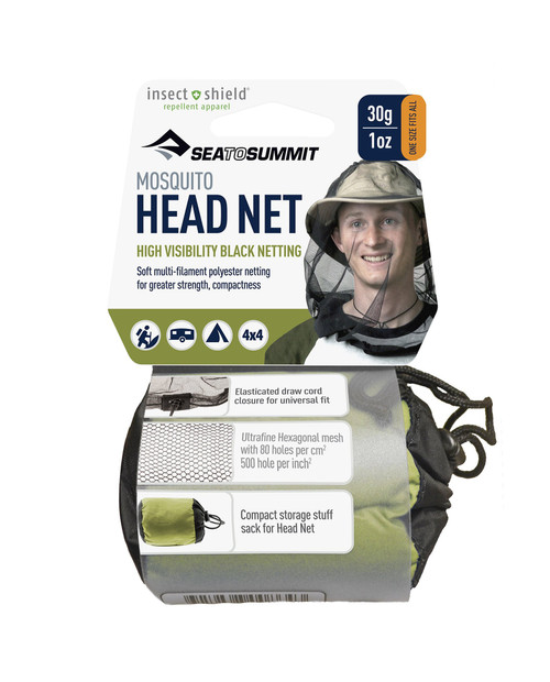 SEA TO SUMMIT Mosquito Head Net Insect Shield