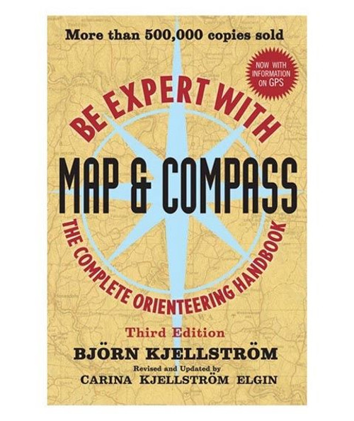 Be Expert w/Map and Compass Book