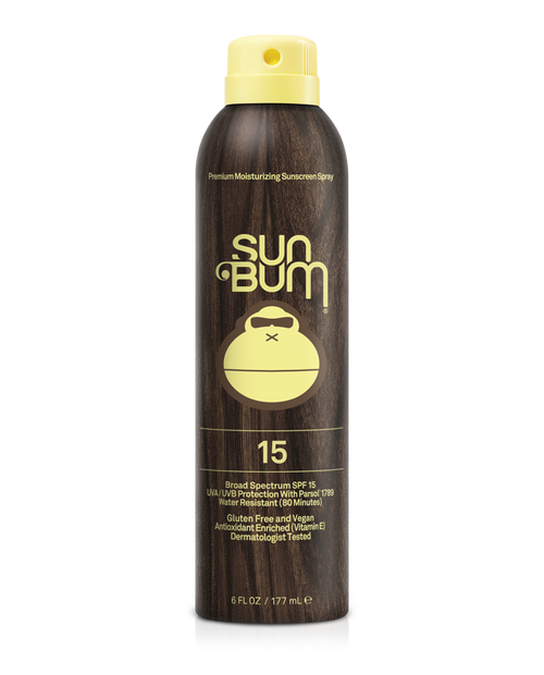 SUN BUM SPF 15+ Sunscreen Spray (6 oz)