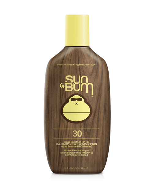 SUN BUM SPF 30+ Sunscreen Lotion (8 oz)