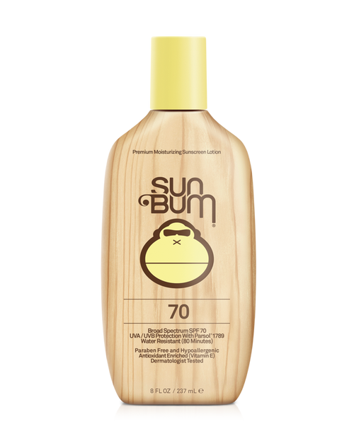 SUN BUM SPF 70+ Sunscreen Lotion (8 oz)
