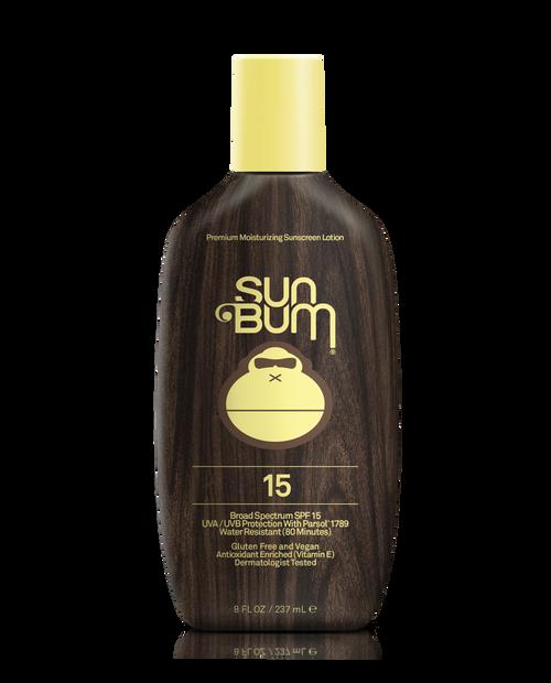 SUN BUM SPF15+ Sunscreen Lotion (8 oz)