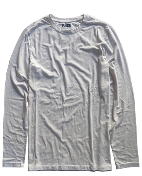 BENSON Men's Cotton Modal LS Tee