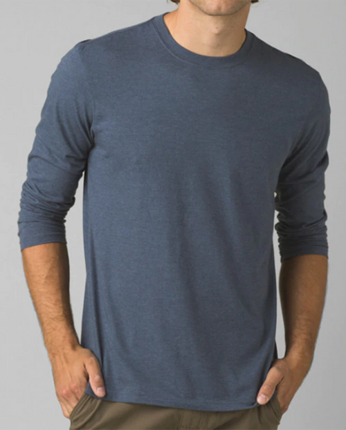 Mens prAna Long Sleeve T-Shirt