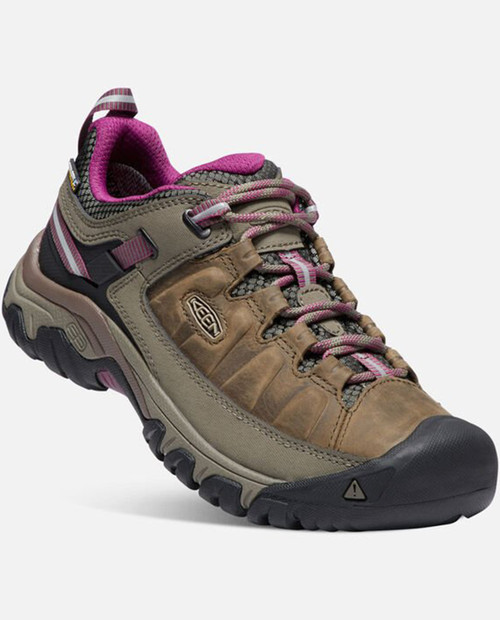 KEEN Womens Targhee III WP  in WEISS/BOYSENBERRY