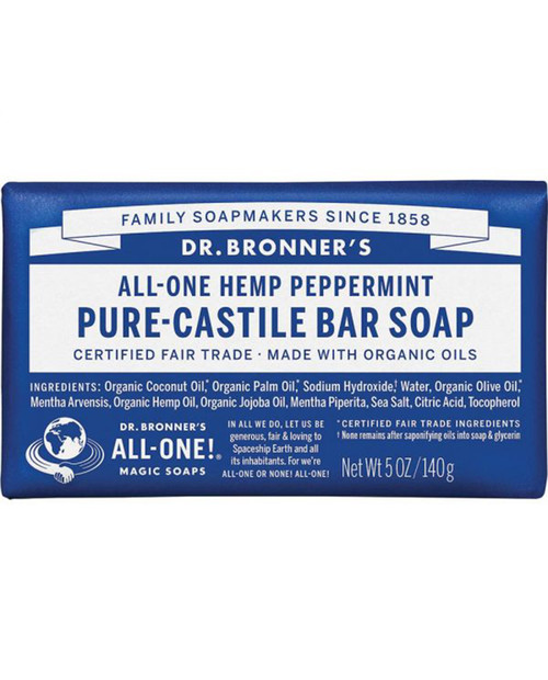 Dr. Bronners Peppermint Bar Soap