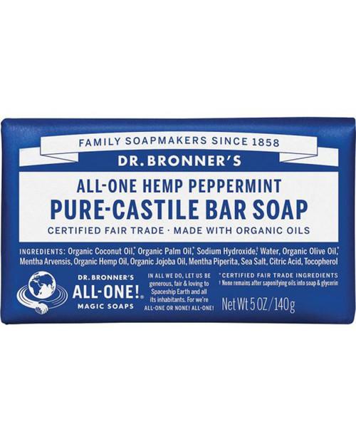 Dr. Bronners Peppermint Bar Soap