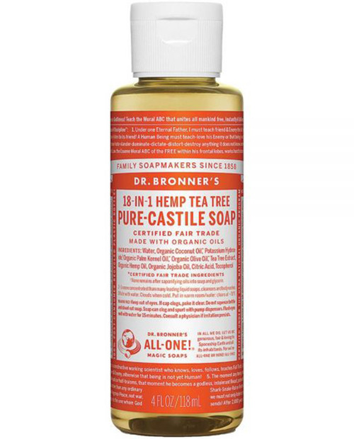 Dr. Bronner's Tea Tree 4oz
