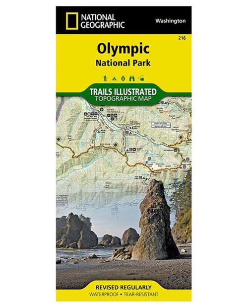 NATIONAL GEO MAPS Olympic National Park #216